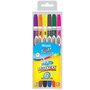 Bazic Products 1233 6 Double-Tip Washable Markers