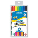 Bazic Products 1234 10 Double-Tip Washable Markers