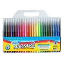 Bazic Products 1282 24 Classic Colors Fine Line Washable Markers