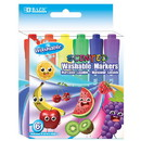 Bazic Products 1285 6 Color Washable Scented Markers