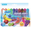 Bazic Products 1286 10 Color Washable Scented Markers