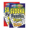 Bazic Products 13068 Brain Teasing Sudoku Puzzle Book Digest Size