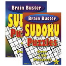 Bazic Products 13075 Brain Teaser Sudoku Puzzle Book