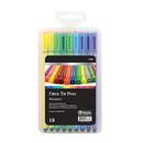 Bazic Products 17038 18 Color Washable Fiber Tip Pen
