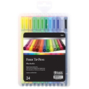 Bazic Products 17039 24 Color Washable Fiber Tip Pen