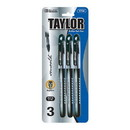 Bazic Products 1704 Taylor Black Rollerball Pen (3/Pack)