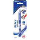 Bazic Products 17063 Frizz Blue Erasable Gel Pen with Grip