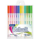 Bazic Products 17081 12 Fluorescent Color Collorelli Gel Pen
