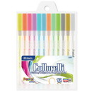 Bazic Products 17083 12 Pastel Color Collorelli Gel Pen