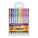 Bazic Products 1720 10 Color Retractable Pen