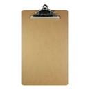 Bazic Products 1804 Legal Size Hardboard Clipboard w/ Sturdy Spring Clip