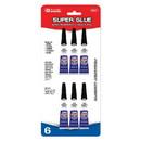 Bazic Products 2007 3g / 0.10 Oz. Super Glue (6/Pack)