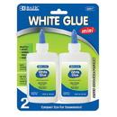Bazic Products 2017 1.25 Oz. (37mL) White Glue (2/Pack)