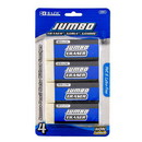 Bazic Products 2201 Jumbo Eraser (4/Pack)
