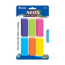 Bazic Products 2207 Neon Bevel Eraser (6/Pack)