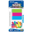 Bazic Products 2234 Neon Eraser Sets ( 15/Pack)