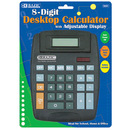 Bazic Products 3001-48 8-Digit Large Desktop Calculator W/ Adjustable Display