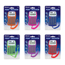 Bazic Products 3006-24 8-Digit Pocket Size Calculator W/ Neck String