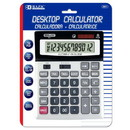 Bazic Products 3011 12-Digit Desktop Calculator w/ Profit Calculation & Tax Functions