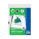 Bazic Products 3101 Economy Weight Top Loading Sheet Protectors (100/Pack)