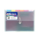 Bazic Products 3164 Rainbow 7-Pocket Letter Size Poly Expanding File