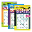 Bazic Products 3388 KAPPA Take Along Large Print Word Finds Puzzle Book - Digest Size