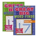 Bazic Products 3390 KAPPA Large Print Great Big Word Finds Puzzle Book