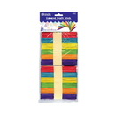 Bazic Products 3432 Colored Craft Stick (100/Pack)