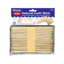 Bazic Products 3433 Jumbo Natural Craft Stick (50/Pack)