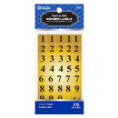 Bazic Products 3809 Gold Foil Number Label (378/Pack)