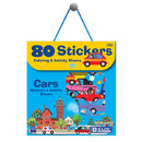 Bazic Products 3860-24 Car Series Assorted Sticker (80/Bag)