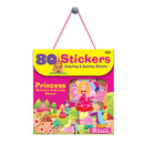 Bazic Products 3863-24 Princess Series Assorted Sticker (80/Bag)