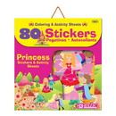 Bazic Products 3863 Princess Series Assorted Sticker (80/Bag)