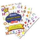 Bazic Products 3873 Alphabet Plastic Sticker book