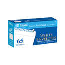 Bazic Products 5065-24 #6 3/4 Self-Seal White Envelope (65/Pack)