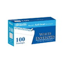 Bazic Products 572 #6 3/4 Self-Seal White Envelope (100/Pack)