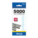Bazic Products 608 5000 Ct. Standard (26/6) Staples