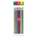 Bazic Products 713 Metallic Glitter Wood Pencil w/ Eraser (8/Pack)