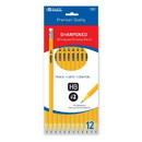 Bazic Products 761 Pre-Sharpened #2 Premium Yellow Pencil (12/Pack)