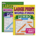 Bazic Products 825 KAPPA Jumbo Large Print Word Finds Puzzle Book