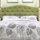 Benzara BM122791 Alipaz Contemporary Full Queen Headboard, Green