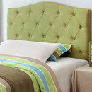 Benzara BM122792 Alipaz Contemporary Twin Headboard, Green