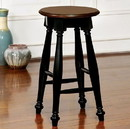 Benzara BM122815 Sabrina Transitional Counter Height Stool, Set Of Two