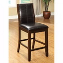 Benzara BM122994 Townsend II Leatherette Parson Chair Counter Height Chair, Set Of 2
