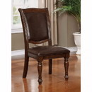 Benzara BM123018 Alpena Traditional Style Side Chair Set Of 2