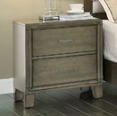 Benzara BM123046 5 Drawer Wooden Chest with Cabriole Legs and Round Knobs, Antique White