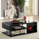 Benzara BM123099 Ninove Contemporary Style Coffee Table, Black
