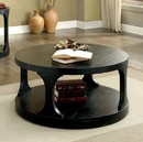 Benzara BM123823 Carrie Transitional Coffee Table, Antique Black