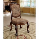 Benzara BM131179 Cromwell Traditional Side Chair, Set Of 2