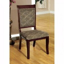 Benzara BM131218 St. Nicholas I Traditional Side Chair, Set Of 2